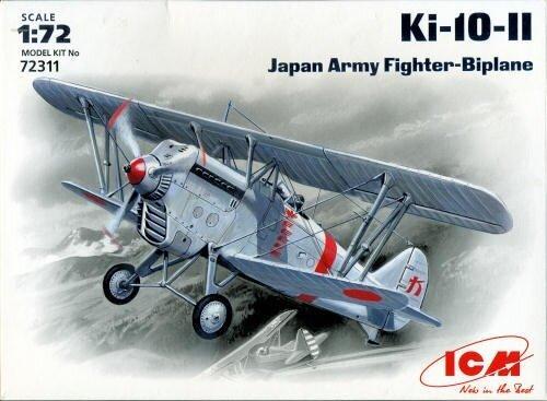 ICM ki10 ทหารโมเดลเครื่องบินรบ