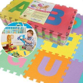 Kids Toys ของเล่น แผ่นโฟมรองคลานแบบจิ๊กซอว์ ลาย ABC (1 set มี 26 แผ่น)