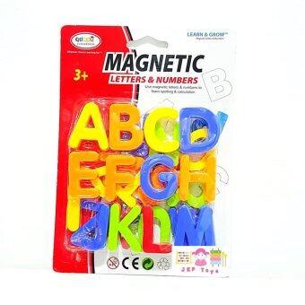 Todds  Kids Toys ของเล่นเสริมพัฒนาการ เซทตัวอักษรเเม่เหล็กภาษาอังกฤษเเละตัวเลข 78 ชิ้น