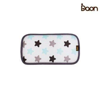 Daon หมอนหนุนระบายอากาศ 3D Air Mesh Pillow-Twinkle ลายดาว สีขาว
