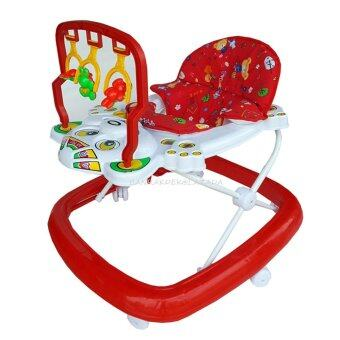 Baby Chamr รถหัดเดินเด็ก รุ่นปรับระดับ AB888 (สีแดง)