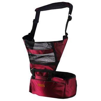 KAKUKI เป้อุ้มเด็ก แบบนั่ง Baby Hip Seat สำหรับเด็ก 6-36 เดือน รุ่น k002 (สี สีแดง)