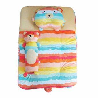 PAPA BABY ชุดปิคนิคเวลบัว Rainbow ลายหมี
