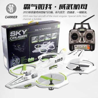 Drone Sky Cruiser โดรนเรือรบบินได้ จากหน่วยซีล ขุมพลังแห่งน่านฟ้า ด้วยแรงลมที่ไม่เคยเจอที่ไหน (สีขาว)