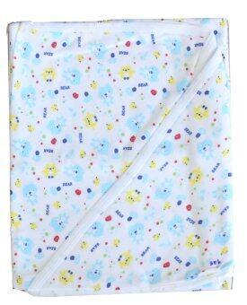 Attoon ผ้าห่อตัวเด็ก ผ้าcotton - สีฟ้า