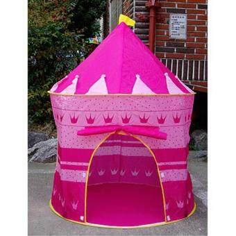 Smartshopping เต้นท์ปราสาทบ้านบอล เจ้าหญิง (สีชมพู)