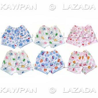 K.baby กางเกงเด็กอ่อนแรกเกิดขึ้นไป ผ้าเรียบ Cotton แพ็ค 6 ตัว