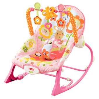Morestech เปลโยก-สั่น มีเสียงเพลง ibaby Infant-to-toddler Rocker ลายกระต่ายน้อย สีชมพู