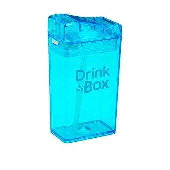 GRACE KIDS กระติกน้ำหัดดื่มสูญญากาศ Drink in the box (สีฟ้า)