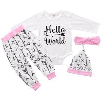 เซทเสื้อผ้าเด็ก ชุดเด็ก เสื้อผ้าเด็กอ่อน เสื้อผ้าเด็กแรกเกิด เสื้อผ้าเด็กน่ารัก ชุดเด็กอ่อน เสื้อผ้าเด็กเล็ก ชุดเด็ก hello world