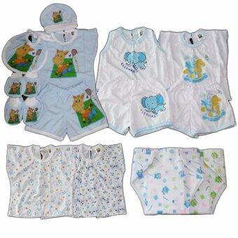BABYKIDS95 ชุดเด็กอ่อน แรกเกิด-6 เดือน รวม 16 ชิ้น (cc-044)