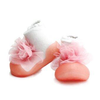 Attipas รองเท้าหัดเดิน รุ่น Corsage Pink-AH02-Pink