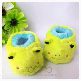 PAPA รองเท้าเด็กแรกเกิด ผ้าเวลบัว