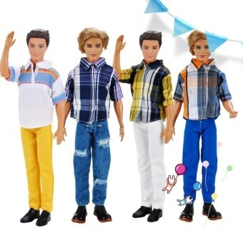 Harga Handmade Doll Clothes Casual Shirts and Pants for Babie'S Boyfriend Ken Doll Set Daily Wear - intl