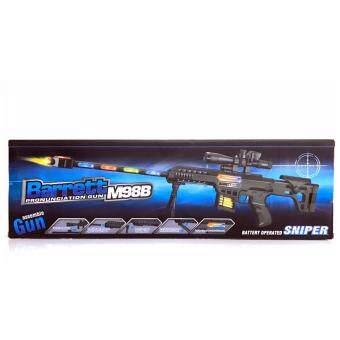 ปืน Sniper มีเสียง มีไฟ