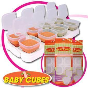 Baby Cubes ขนาด 2 OZ ภาชนะเก็บอาหาร