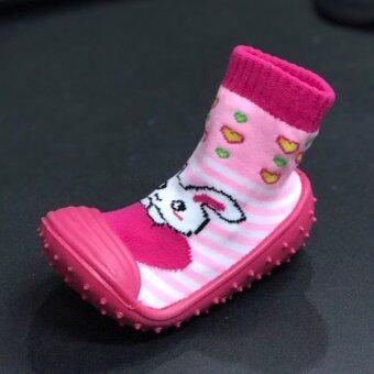รองเท้าหัดเดิน สำหรับเด็กวัยหัดเดิน ลาย pink # 0010