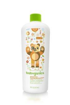 BabyGanics โฟมล้างมือสูตรไม่ต้องล้างน้ำออก กลิ่นส้มแมนดาริน ชนิดเติมขนาด 473 มล.