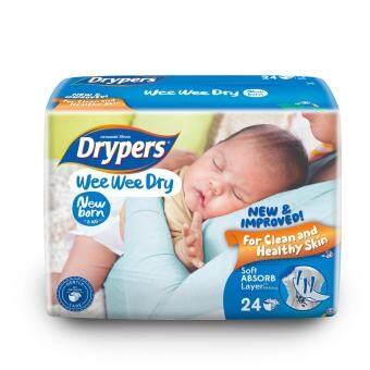 Drypers ผ้าอ้อมสำหรับเด็ก รุ่น WWD NB 24 ชิ้น