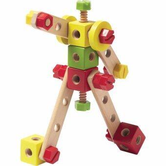 ชุดตัวต่อ 115 ชิ้น เสริมไอคิวและพัฒนการให้กับเด็ก - 115 PCS CONSTRUCTION BUCKET (TRU-795526)