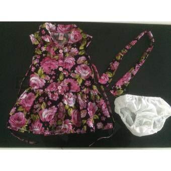 เสื้อผ้าเด็กDeberry kids(สีชมพู)/เนื้อผ้าCotton 100 เปอร์เซนต์