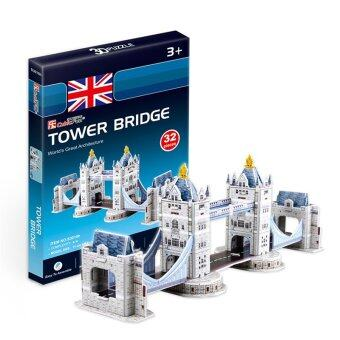 Harga Cubic Fun Miniature 3D Paper Puzzle Kids Gifts Kits Toy- Tower Bridge (Intl)