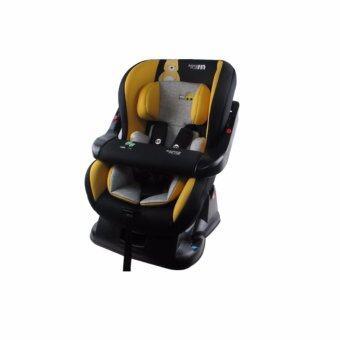 Fin Babiesplus คาร์ซีท เบาะติดรถยนต์สำหรับเด็ก มีที่กั้น ปรับระดับได้ (นั่ง/เอน/นอน) สำหรับเด็กแรกเกิด - 4 ขวบ รุ่น CAR-LB717