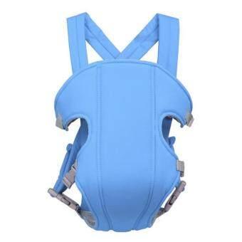 เป้อุ้มเด็กสะพายหลัง สายสะพายX ( สีฟ้า )