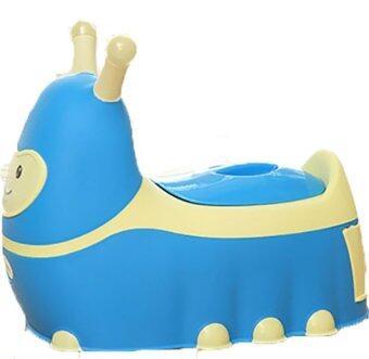 Babyhood กระโถนนั่งหนอนน้อย (สีฟ้า)