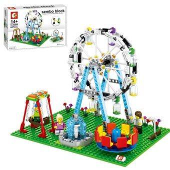 Toysanime ชุดสนามเด็กเล่น Amusement Park 447 ชิ้น