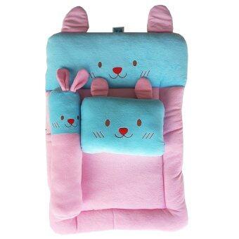 PAPA ชุดที่นอนปิคนิคผ้าขนหนูปาป้า (สีชมพู/สีฟ้า)
