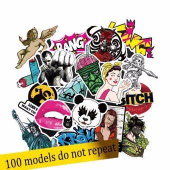 Sticker Pro for Childrens สติ๊กเกอร์กันน้ำ แบบสุ่มสำหรับตกแต่ง 100 ชิ้น/ แพ๊ค
