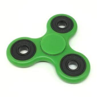 Tri-Spinner Fidget ของเล่นพลาสติก EDC Hand Spinner สำหรับความหมกหมุ่นและ ADHD Spinner Hand Fidget Spinner