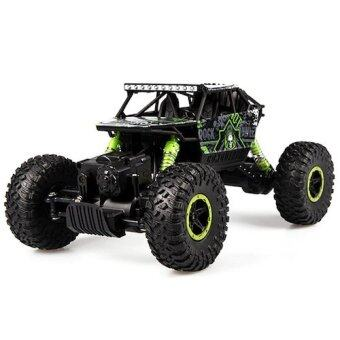Harga Hitech รถไต่หิน Scale 1:18 Rock Crawler 4WD 2.4ghz (Green)