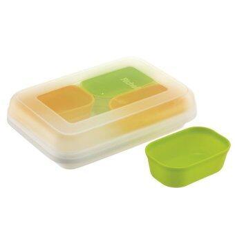 Richell กล่องแช่อาหารเด็ก Dividable Freezing Cup 50 ml. / 4 cups No.98721