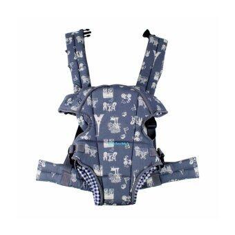 Baby Carrier เป้อุ้มเด็ก สะพายด้านหน้า/หลัง รุ่น AM16862-BB2 ( สีเทา)