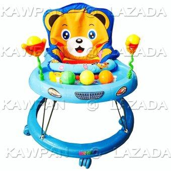 k.baby รถหัดเดิน หน้าหมี Teddy มีเสียงดนตรี (สีฟ้า)