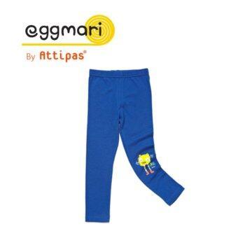 Eggmari กางเกงเลคกิ้งเด็ก รุ่น Solid สี Blue