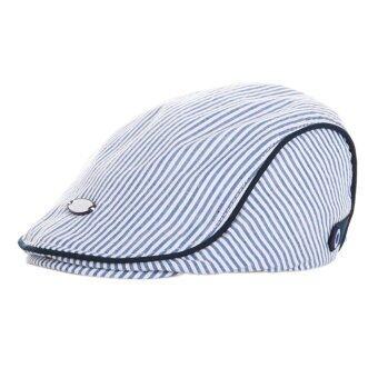Cocotina เด็กทารกเด็กหนุ่มสาวน่ารักสวมหมวกลายหมวกแหลมสวมหมวกเบสบอล-สีน้ำเงิน-ระหว่างประเทศ