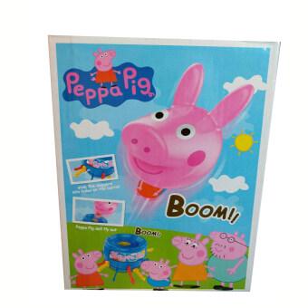 Peppa pigs เกมเสี่ยงดวง เสียบถังหมูน้อย + หมุนวงล้อ สำหรับหลายคน