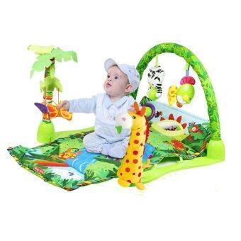 Baby Gift เพลยิมยีราฟ พร้อมโมบาย (สีเขียว)
