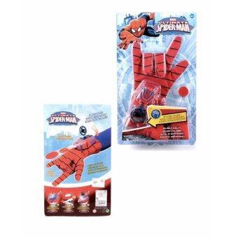 Minlane Toys Spiderman Glove ชุดถุงมือ ยอดมนุษย์ แมงมุม สไปรเดอร์แมน