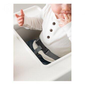 FIN-FIN เก้าอี้ทานข้าวเด็กเล็กทรงสูงพร้อมถาด (สีขาว) อายุ 6 เดือน - 4 ปี (image 3)