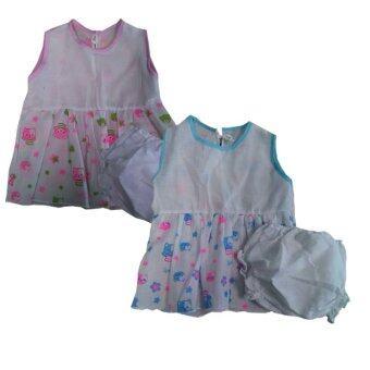 PalmandPond ชุดเด็กแรกเกิด ผ้าสาลู ชุดที่ 80