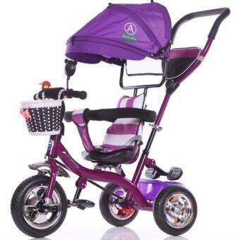 รถจักรยานสามล้อเด็ก สีม่วง