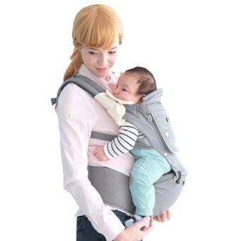 i-mama เป้อุ้มเด็ก เป้สะพายเด็ก เป้เพื่อสุขภาพ(สีเทา) imama Hip Seat Carrier (Gray)