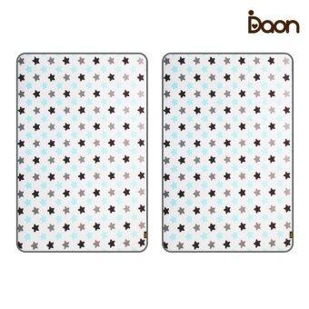 Daon เบาะรองนอนระบายอากาศ - เด็กแฝด 3D Air Mesh Mattress-Twinkle 2PCS ลายดาว สีขาว (จำนวน 2 ผืน)