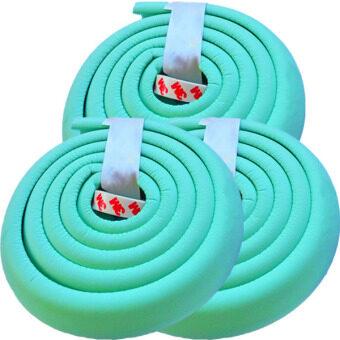 โฟมยางกันกระแทกสำหรับเด็ก ความยาว 2 เมตร Soft Edge Cushion Strip (สีเขียว) ชุดเช็ต 3 ม้วน