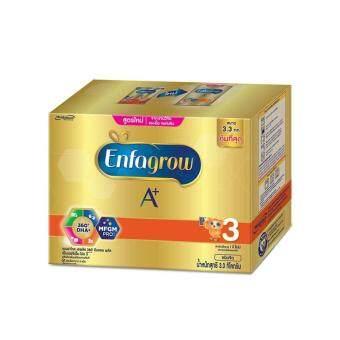 Enfagrow นมผงเอนฟาโกร เอพลัส สูตร 3 ขนาด 3300 กรัม รสจืด  สูตรใหม่