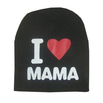 Amart เด็กทารกน่ารัก ๆ เพศสวมหมวกผ้าหมวกฤดูหนาวดาวสีดำ